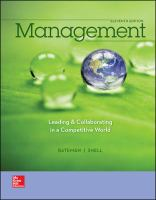 Cover image for Management : leading & collaborating in a competitive world