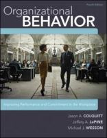 Cover image for Organizational behavior : improving performance and commitment in the workplace
