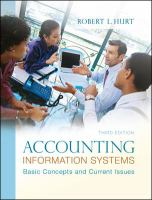 Cover image for Accounting information systems : basic concepts and current issues
