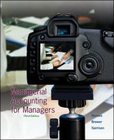 Cover image for Managerial accounting for managers
