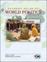 Cover image for Student atlas of world politics