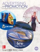 Cover image for Advertising and promotion : an integrated marketing communications perspective