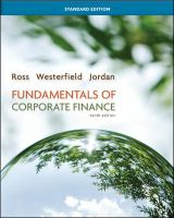 Cover image for Fundamentals of corporate finance