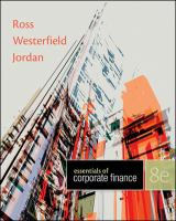 Cover image for Essentials of corporate finance