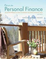 Cover image for Focus on personal finance : an active approach to help you develop successful financial skills