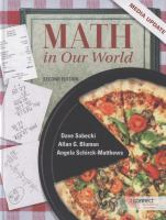 Cover image for Math in our world : media update