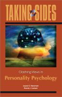 Cover image for Taking sides. Clashing views in personality psychology