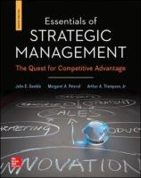 Cover image for Essentials of strategic management : the quest for competitive advantage
