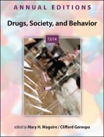 Cover image for Annual editions : drugs, society, and behavior 13/14