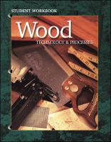 Cover image for Wood technology and processes : student workbook