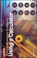 Cover image for Solving business problems using a calculator