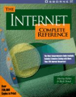 Cover image for The Internet complete reference