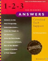 Cover image for 1-2-3 for windows answers : certified tech support