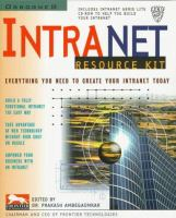 Cover image for Intranet resource kit