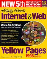 Cover image for Internet and web yellow pages