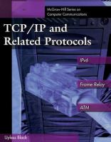 Cover image for TCP/IP and related protocols