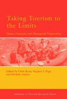 Cover image for Taking tourism to the limits : issues, concepts, and managerial perspectives