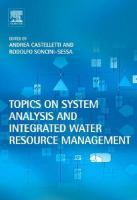 Cover image for Topics on system analysis and integrated water resources management