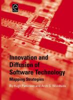 Cover image for Innovation and diffusion of software technology : mapping strategies