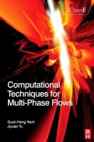 Cover image for Computational techniques for multiphase flows : basics and applications