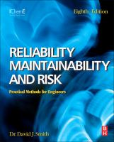 Cover image for Reliability, maintainability, and risk : practical methods for engineers