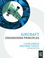 Cover image for Aircraft engineering principles