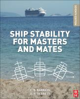 Cover image for Ship stability for masters and mates