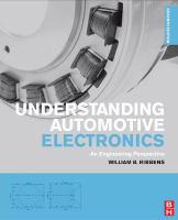 Cover image for Understanding automotive electronics : an engineering perspective