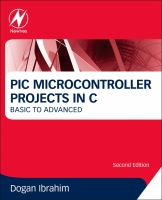 Cover image for PIC microcontroller projects in C : basic to advanced