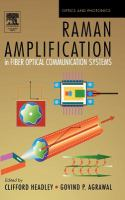 Cover image for Raman amplification in fiber optical communication systems