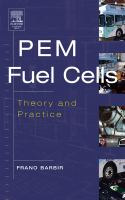 Cover image for PEM fuel cells : theory and practice