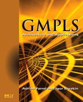 Cover image for GMPLS : architecture and applications