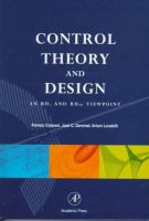 Cover image for Control theory and design : a RH2 and RH viewpoint