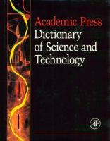 Cover image for Academic press dictionary of science and technology