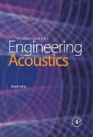 Cover image for Foundations of engineering acoustics