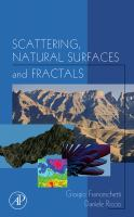 Cover image for Scattering, natural surfaces, and fractals