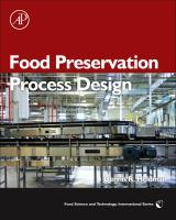 Cover image for Food preservation process design