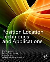 Cover image for Position location techniques and applications