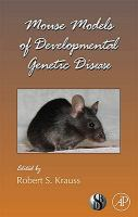Cover image for Mouse models of developmental genetic disease