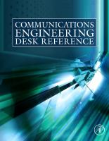 Cover image for Communications engineering desk reference