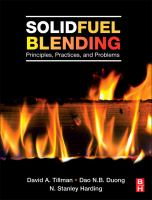 Cover image for Solid fuel blending : principles, practices, and problems