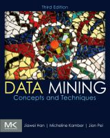 Cover image for Data mining : concepts and techniques