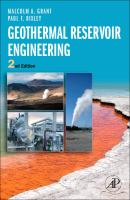 Cover image for Geothermal reservoir engineering