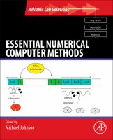 Cover image for Essential numerical computer methods