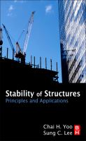Cover image for Stability of structures : principles and applications