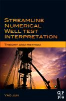 Cover image for Streamline numerical well test interpretation : theory and method