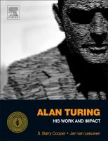 Cover image for Alan Turing : his work and impact