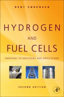 Cover image for Hydrogen and fuel cells : emerging technologies and applications