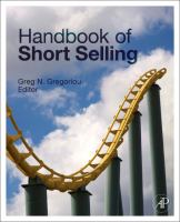 Cover image for Handbook of short selling