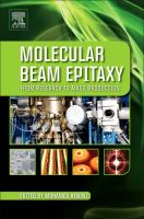 Cover image for Molecular beam epitaxy : from research to mass production